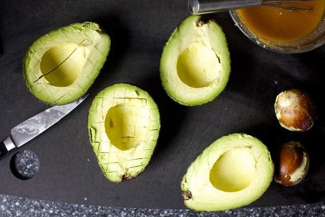 prep the avocados