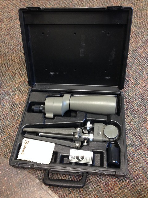 New-to-me spotting scope!