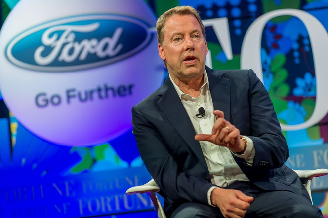 While at Fortune Brainstorm E, Executive Chairman Bill Ford announced the company's research into converting carbon dioxide into plastics and foams. Ford is the first automaker to develop foams and plastics using captured carbon dioxide for its vehicle li