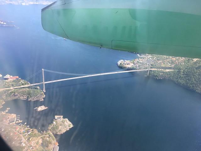 Bergen's golden gate bridge?