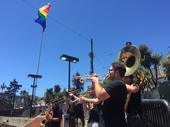 Brass Band at Market and Castro