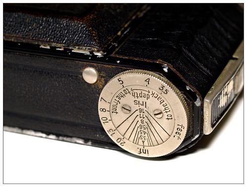 Kodak Retina 117 DoF scale