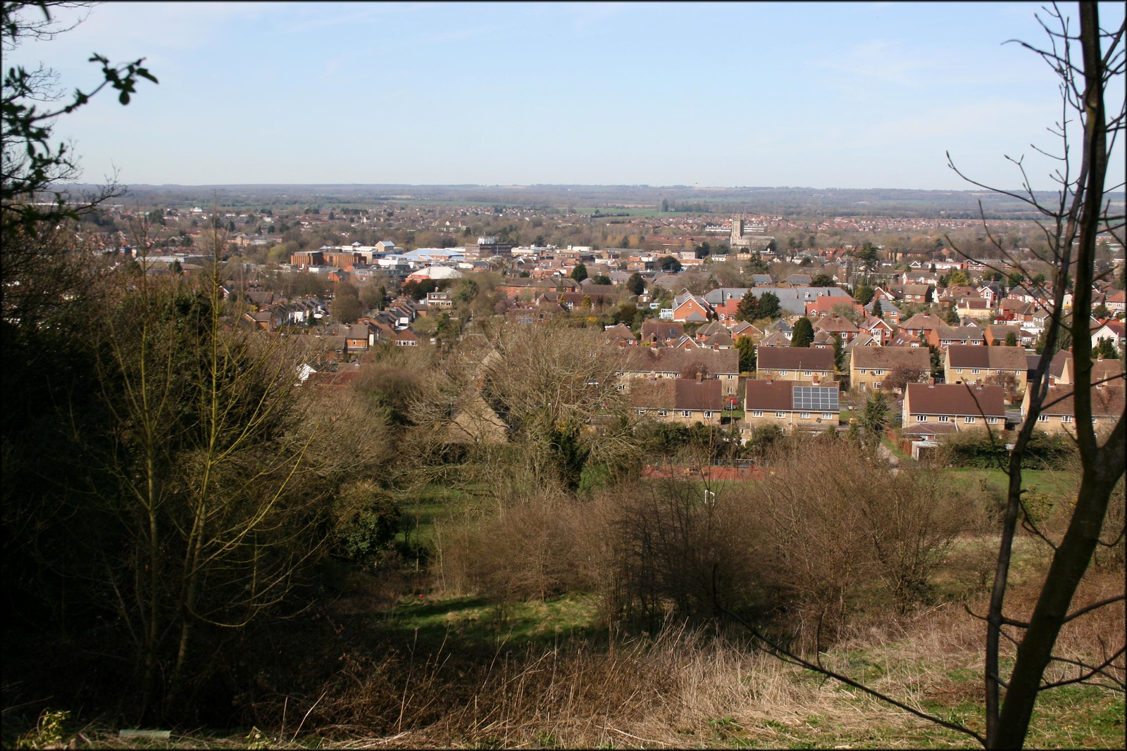 Andover View over Andover