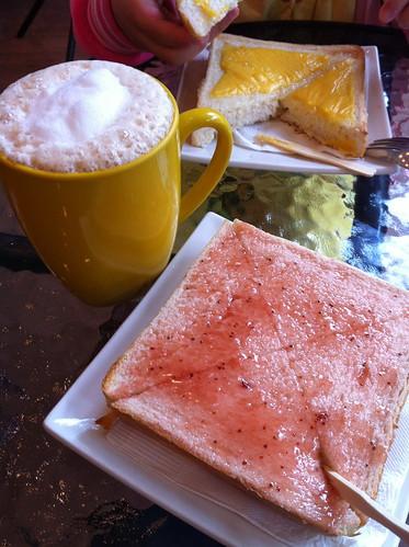 三角函數_鮮奶茶&草莓厚片