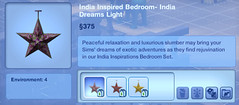 India Inspired Bedroom- India Dreams Light