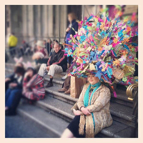 That's a big hat! #EasterParade #newyork