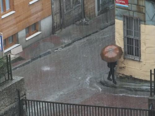 Isztambul esőben