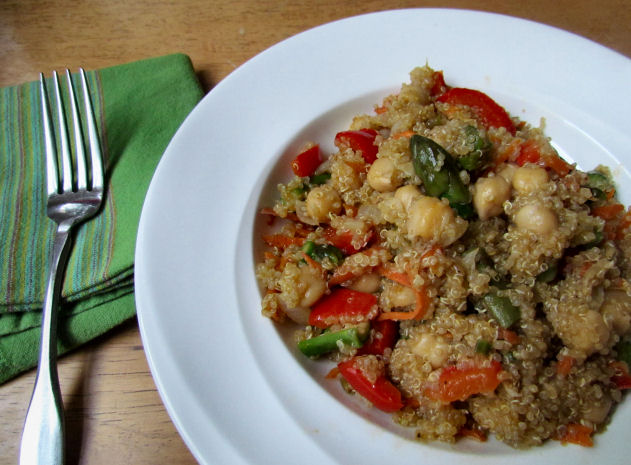 Quinoa and Veggies for Dinner