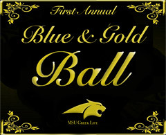 Blue and Gold Ball - March 31