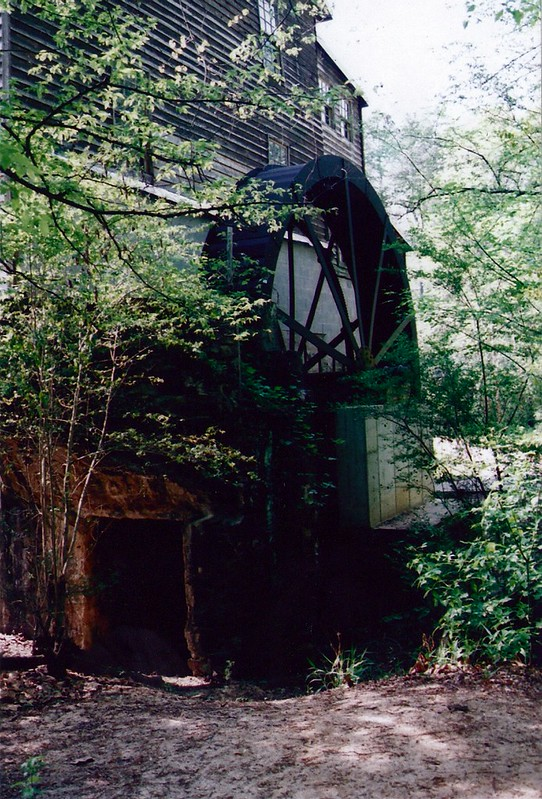 Vertical Waterwheel to the Freeman's Mill