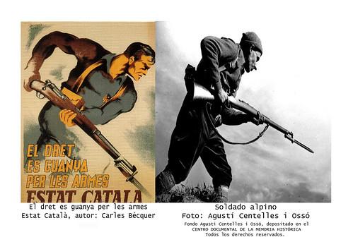 Carles Bécquer vs. Agusti Centelles. by Octavi Centelles