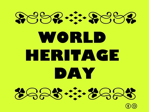 April 18 is World Heritage Day, aka International Monuments and Sites Day #worldheritageday @ICOMOS @UNESCO @I_N_T_O @AndrewSPotts @amilcarvargas @usicomos