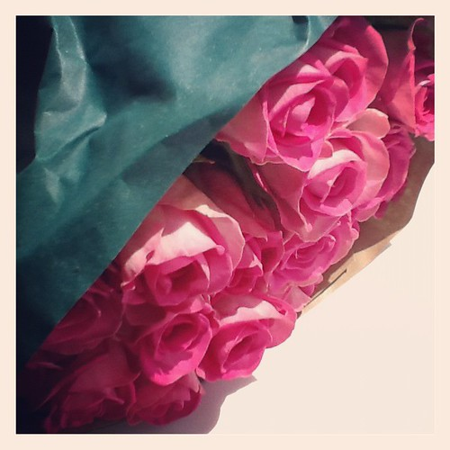 Instagram roses by PhotoPuddle