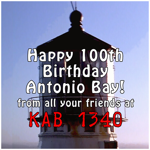 Happy B-Day Antonio Bay!