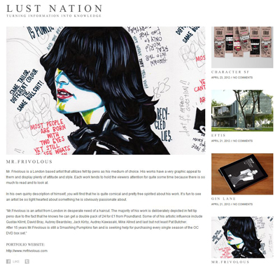 LUST NATION 400