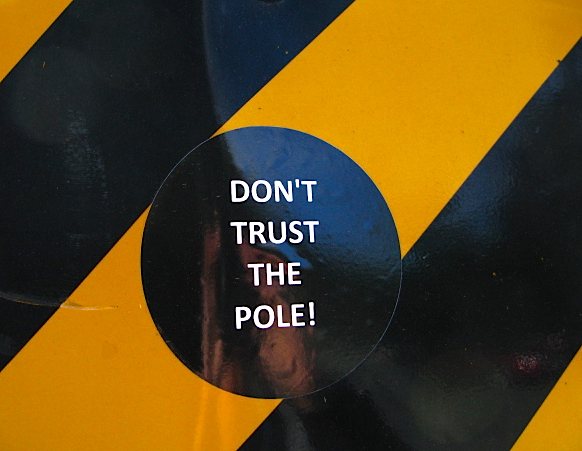 pole sticker