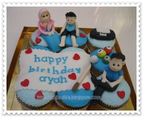 Cupcake set by DiFa Cakes