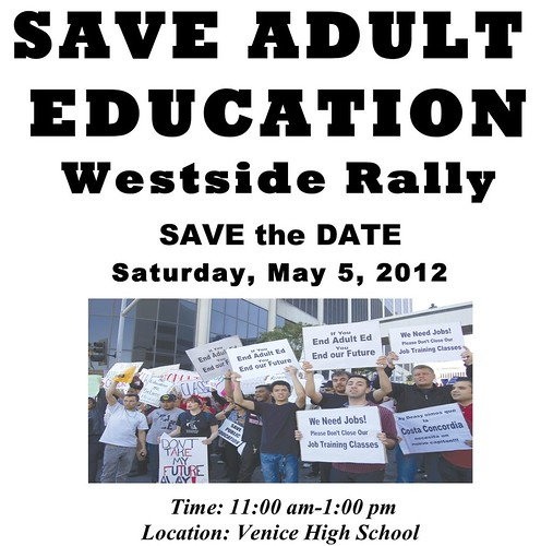 Save Adult Education