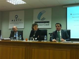 Luis Alonso en charla de ASTIC