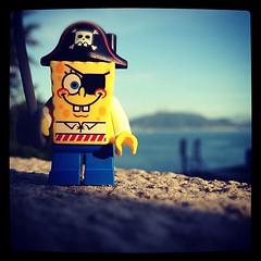 #lego #spongebobsquarepants #spongebob #pirate #toy #instagrm #iphone #iphotography