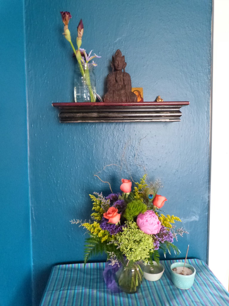 Shrine, Flowers