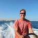 Dan Drives a Boat in Hurghada, Egypt