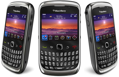 Blackberry 9300: Smartphone Curve 3G