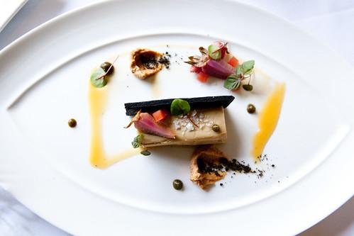 Cold foie gras torchon