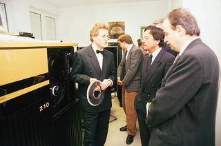 Supercomputer im Techno-Z-1989(c)Peter Schlager
