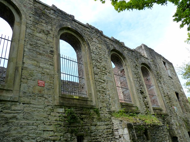 Workington Hall (ruins)