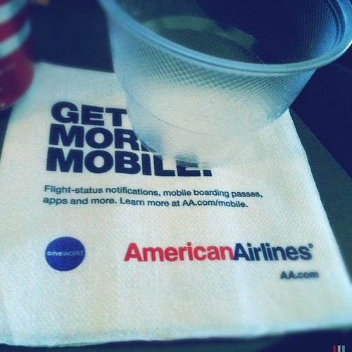 American Airlines by Davide Restivo