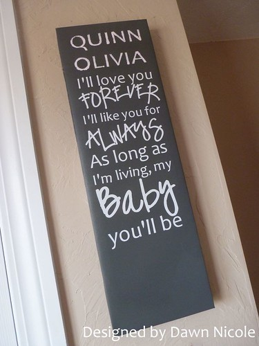 D.I.Y. Nursery Wall Art