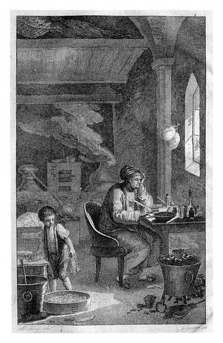 016- Laboratorio Quimico o Alquimico del siglo XVIII- University Pensylvania Libraries -Edgar Smith Fahs Química Colección.