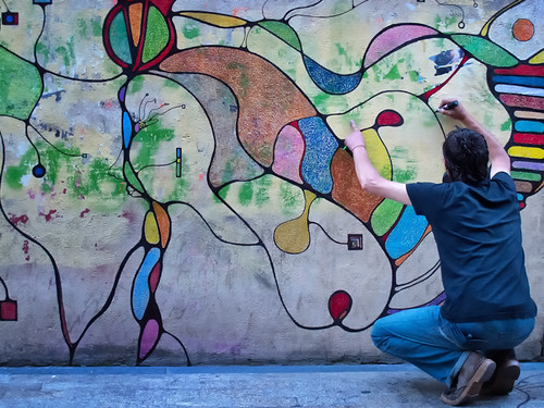 De punta fina (III) by Andrés Ñíguez