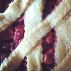 berry(0.0), baking(0.0), strawberry(0.0), plant(0.0), produce(0.0), fruit(0.0), cranberry(0.0), raspberry(0.0), pie(1.0), meal(1.0), blueberry pie(1.0), blackberry pie(1.0), rhubarb pie(1.0), baked goods(1.0), food(1.0), dish(1.0), dessert(1.0), cherry pie(1.0),
