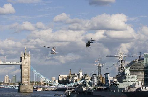 Approaching Tower Bridge