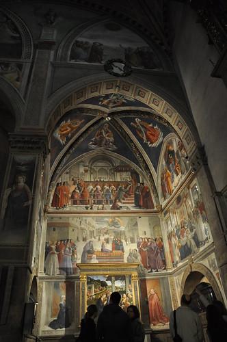 Sassetti Chapel in Santa Trinita in Florence