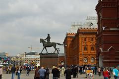 Zhukov Memorial Statue