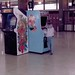 Me playing a stand-up Donkey Kong arcade game at the St Louis Greyhound bus station in the 1980s by benchilada