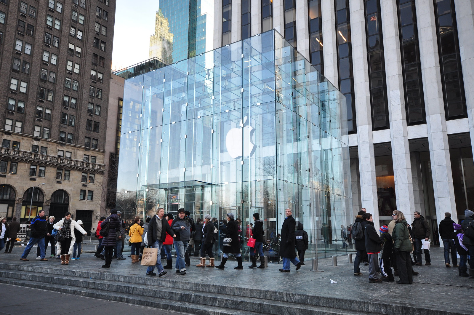 Photo:Apple Store - Fifth Avenue By:Jorge Lascar