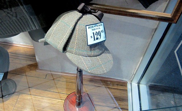 Deerstalker in Stanley's Menswear, Bentleigh