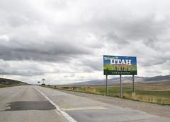 Entering Utah!