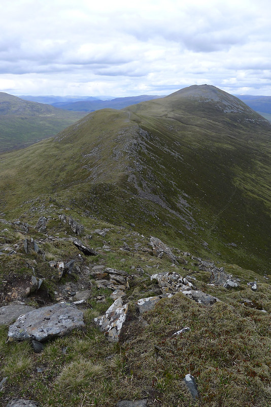 Carn Dearg from the ridge