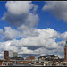 Sky above the skyline of my town by Ciao Anita!
