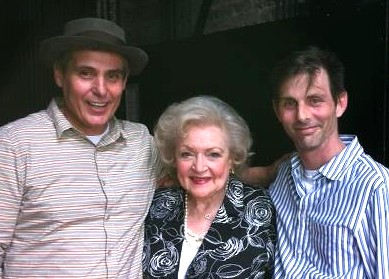 Jacques Rosas, Betty White and Eric Steding