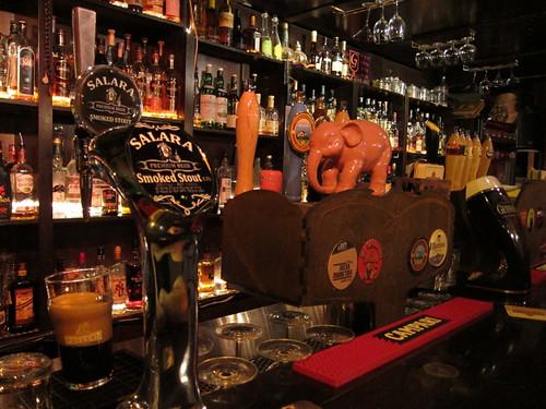 draught beers @ Glen Bar
