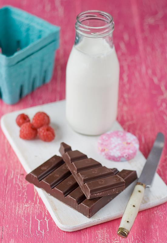 crema de chocolate al horno