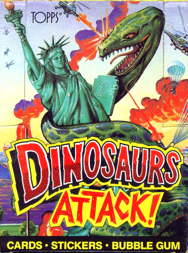 Dinosaurs Attack! Box Art