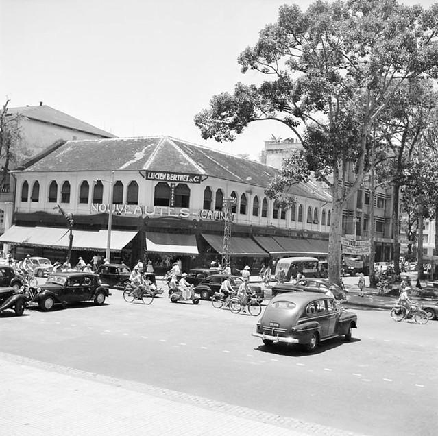 La vie quotidienne à Saïgon. 1950