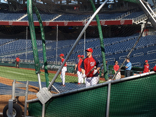Bryce Harper in the cage
